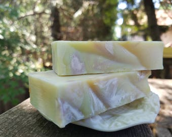 Natural Handmade Soap, Harmony Blend. Cruelty-Free, Vegan, Cold Processed,