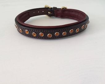 Gem stone collar