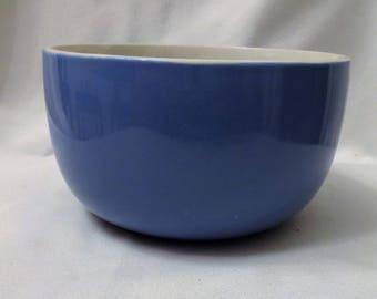Blue Pottery Bowl - Looks like Hall's