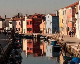 Burano Island Italy Prints/Italian Prints/Venice prints/Italian wall art/Italy gifts/Photo Display/Italy Photography