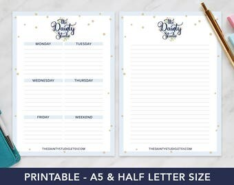 Personalized weekly planner - Marketing gifts - Promotional gifts - Custom notepad - Marketing materials - Promotional products - Customers