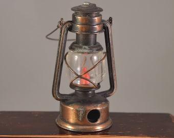 Vintage lamp cast iron ,bronze...metal pencil sharpener, play me