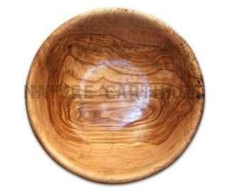 22 cm olive wood Salad Bowl.  Olive Wood Salad Bowl