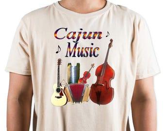 Cajun Music T-Shirt