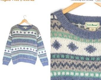 On sale Vintage striped sweater. Mohair wool sweater. Geometric sweater. Size women's medium.