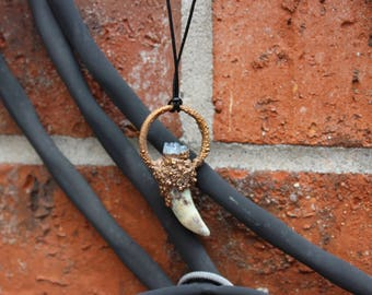 Alligator Tooth Pendent