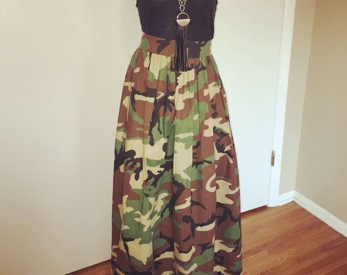 "Featured listing image: Maxi Skirt aka Ballroom Skirt- 42"" long"