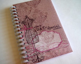 FREE SHIPPING! New 80 pg hardcover journal diary planner j3
