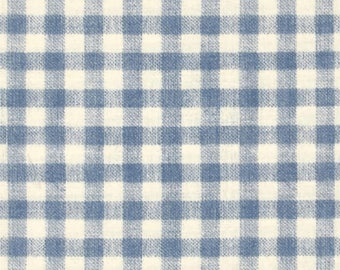 DENIM CHECK 4th on the Farm cotton fabric by the yard, fq+, Robert Kaufman fabric, quilting fabric, 100% cotton fabric, country fabric!