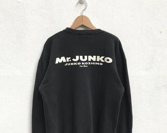 20% OFF Vintage Mr Junko Sweatshirt Junko Koshino For Men Designer Shirt Junko Sweater Japanese Designer Shirt Junko Koshino Clothing