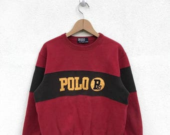 20% OFF Vintage Polo Ralph Lauren P 67/Polo Ralph Lauren Sweatshirt/Polo Sport/Polo 1992/P-Wing/Stadium/Cookie