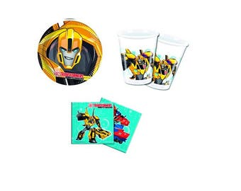 Transformers party Kit-Transformers decorations and decoration