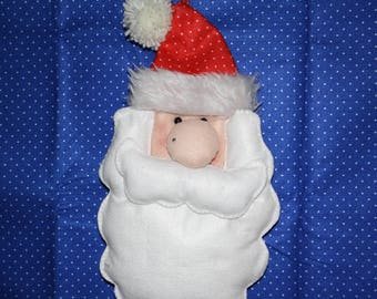 Santa Claus felt for door or wall