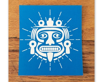 AZTEC STICKER