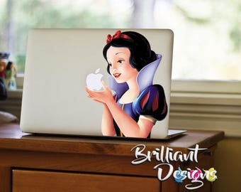 Snow White Decal, Snow White, Macbook Decal, Snow White Revenge Decal, Snow White MacBook Pro Sticker, MacBook, Gift, For Her, Geekery