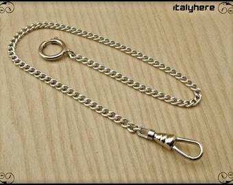 Chain pocket watch, curb, 35 cm