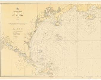 Saco Bay Map - 1925