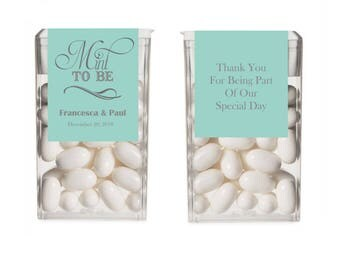 12 Personalised Wedding Tic Tacs