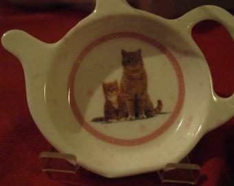 Ginger Cat Tea Bag Rest