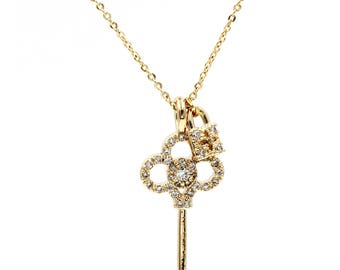 Simple temperament clavicle necklace