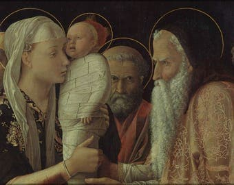 Poster, Many Sizes Available; The Presentation By Andrea Mantegna