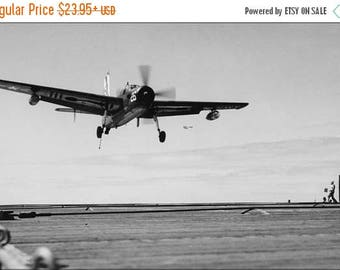 20% Off Sale - Poster, Many Sizes Available; Navy Grumman Af-2S Guardian (Vs-37) Uss Badoeng Strait 1954