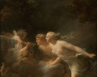 20% Off Sale - Poster, Many Sizes Available; Jean Honore Fragonard French The Fountain Of Love
