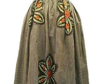 ON SALES African Maxi skirt, Ankara High waist skirt, African print Maxi skirt ,African clothing