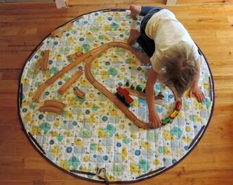 playmat convertible bag toy elephant