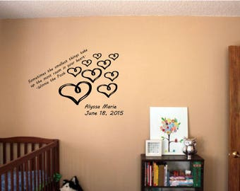 Winnie the Pooh Quote Nursery Wall Sticker-Nursery Wall Decal-Baby's Room Wall Sticker-Wall Graphic-Wall Decal