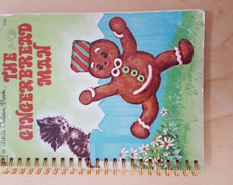 Notebook - Gingerbread Man - A5 Rebound 200 Page Journal