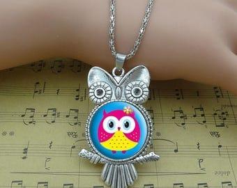 Necklace OWL / owl
