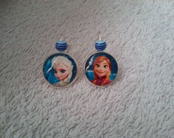 Snow Queen post earring