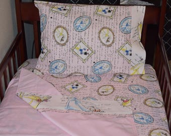 Crib/Toddler Sheets - Disney Princess Vintage