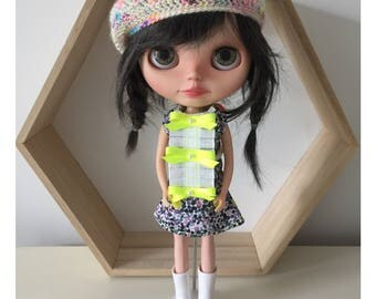 I Love Neon Blythe Dress Now lower price!