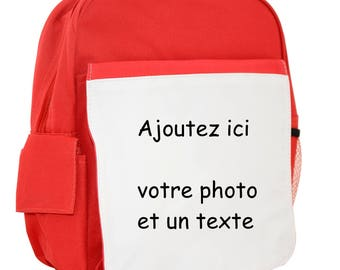 Kids, personalized backpack