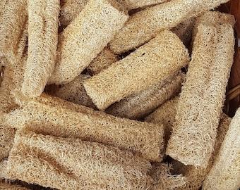 Unbleached Organic Luffa Sponges