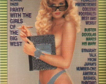 MATURE - Playboy Trading Card Chromium Cover Cards III - #294 October 1990