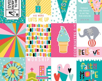 Illustrated Faith Delight in His Day 3x4 Journaling cards