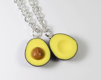 Avocado Best Friend Necklace Set