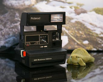 Old Style Polaroid Business Edition Instant Camera - Tested, Good Condition #PD21