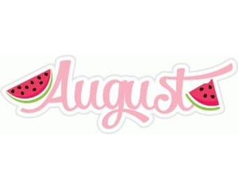 August Headband of the Month