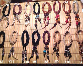 Suede Chokers #9-#16