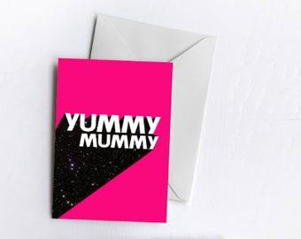 Yummy Mummy | Greetings Card