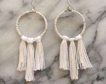 Tassel Earrings- The Alina Tassel