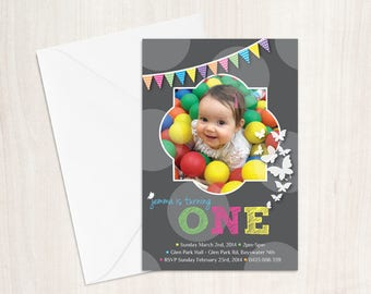 1st 2nd 3rd or Special Birthday Invitation