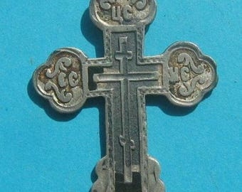 Ancient Silver Cross 84. Imperial Russia.
