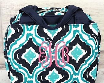 Retro Moroccan Insulated Bowler Type Lunch Bag
