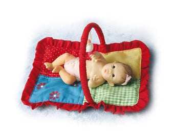 Ashton Drake Picture-Perfect Time For Play Miniature Baby Girl Doll by Sherry Rawn