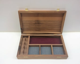 Jewelry box with compartments